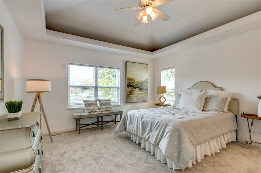 Real Estate Photography - 70 L Lakeshore Drive, Lake Lottowana, MO, 64086 - Master Bedroom