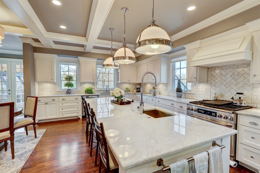 Real Estate Photography - 2401 Drury Lane, Mission Hills, KS, 66208 - Kitchen