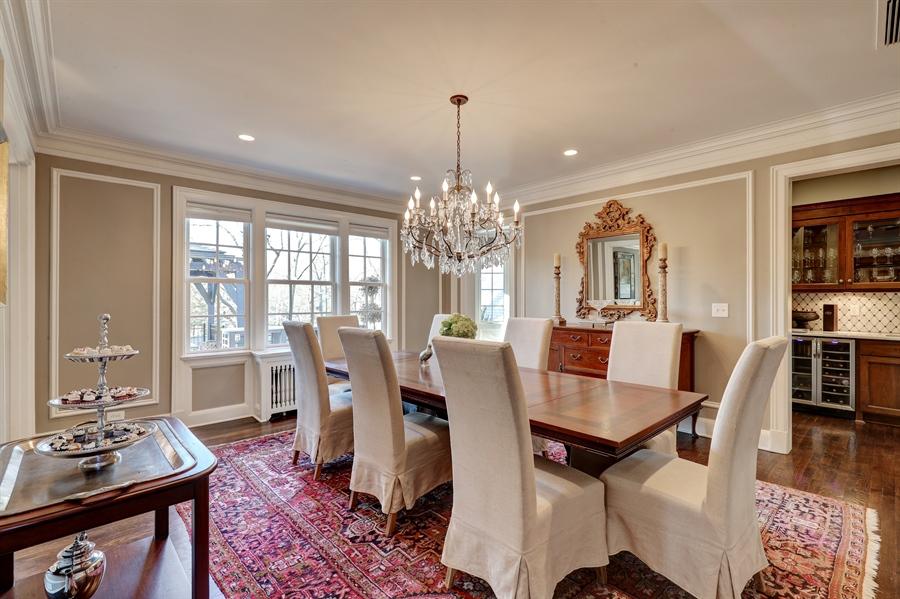 Real Estate Photography - 2401 Drury Lane, Mission Hills, KS, 66208 - Dining Room
