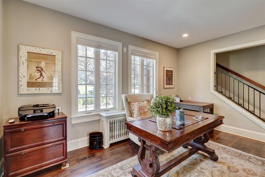 Real Estate Photography - 2401 Drury Lane, Mission Hills, KS, 66208 - Office