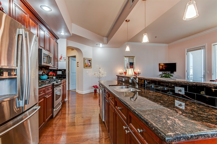 Real Estate Photography - 3800 N. Mulberry, 301, Kansas City, MO, 64116 - Kitchen
