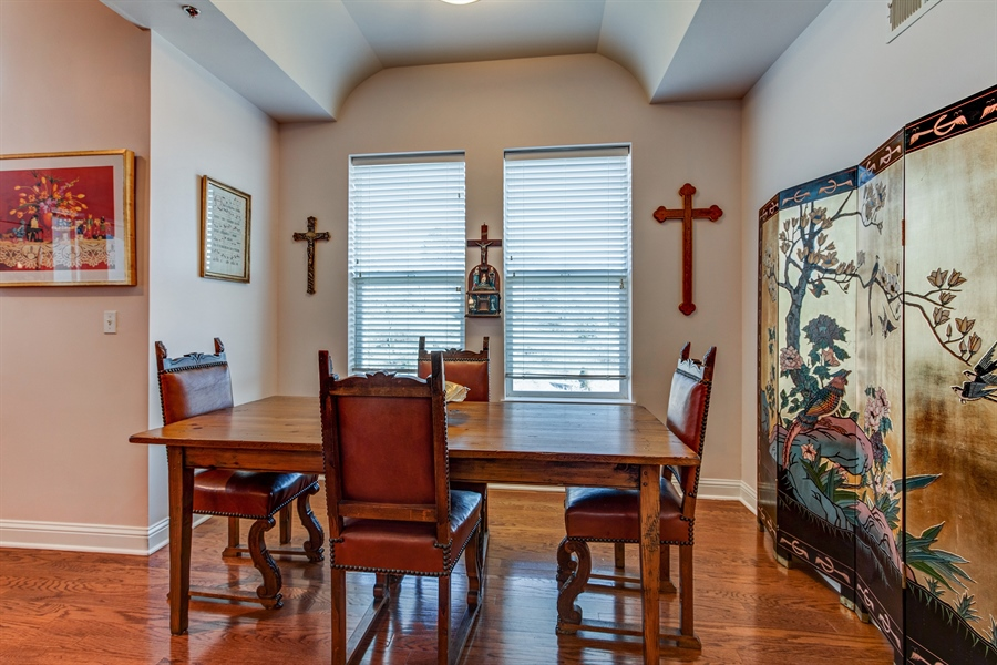 Real Estate Photography - 3800 N. Mulberry, 301, Kansas City, MO, 64116 - Dining Room