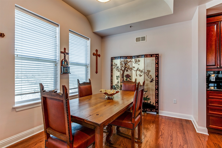 Real Estate Photography - 3800 N. Mulberry, 301, Kansas City, MO, 64116 - Dining Area