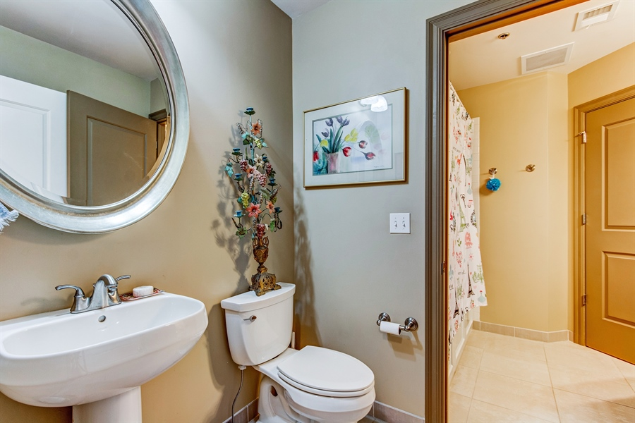 Real Estate Photography - 3800 N. Mulberry, 301, Kansas City, MO, 64116 - 2nd Bathroom