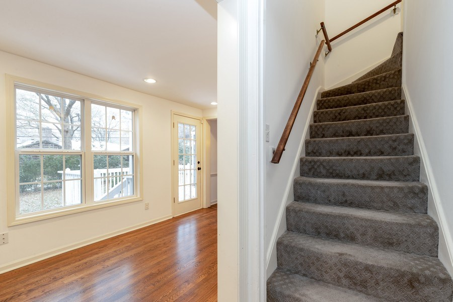 Real Estate Photography - 1224 w 70th street, kansas city, MO, 64113 - Staircase