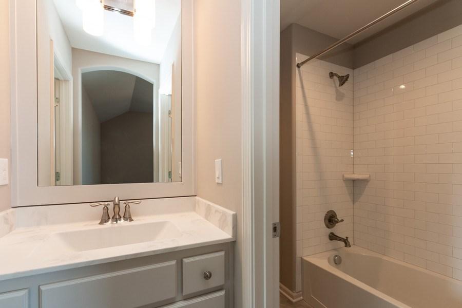 Real Estate Photography - 16200 Stearns St., Overland Park, KS, 66221 - 3rd Bathroom