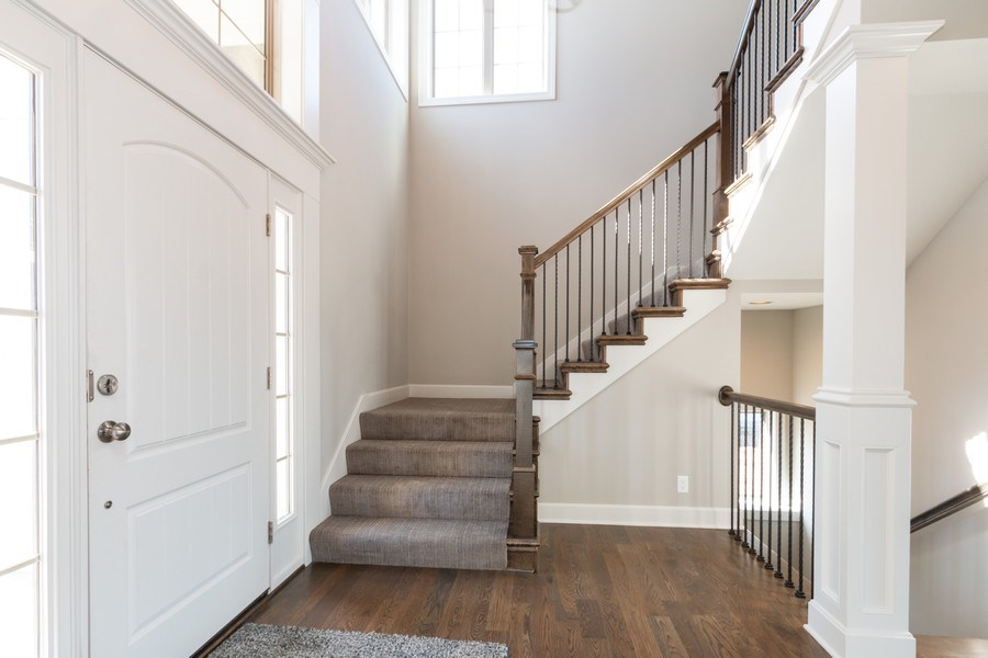 Real Estate Photography - 16200 Stearns St., Overland Park, KS, 66221 - Foyer