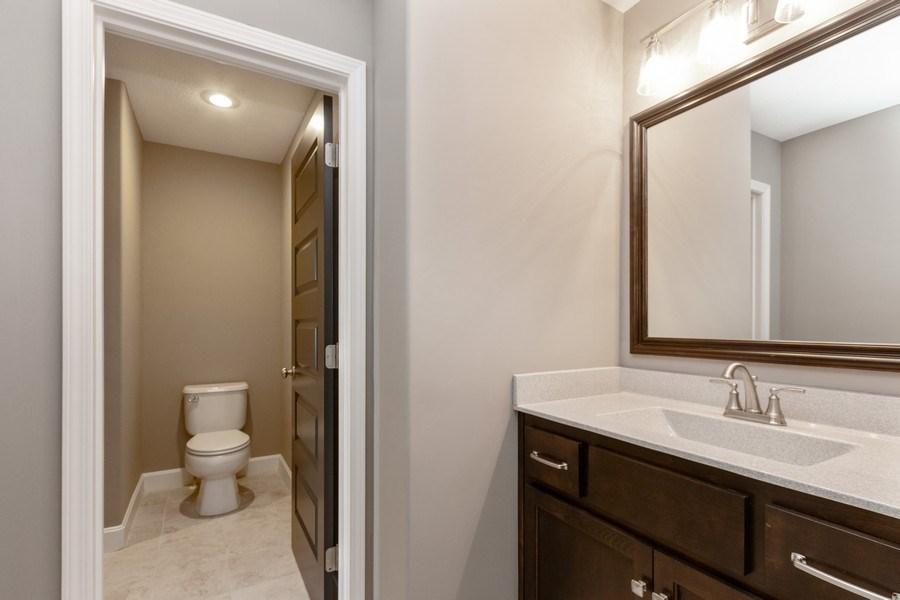 Real Estate Photography - 16204 Stearns St., Overland Park, KS, 66221 - 3rd Bathroom