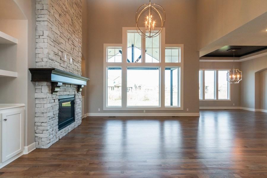Real Estate Photography - 16204 Stearns St., Overland Park, KS, 66221 - Living Room