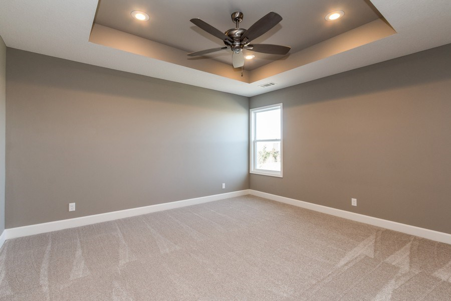 Real Estate Photography - 16204 Stearns St., Overland Park, KS, 66221 - Guest Bedroom