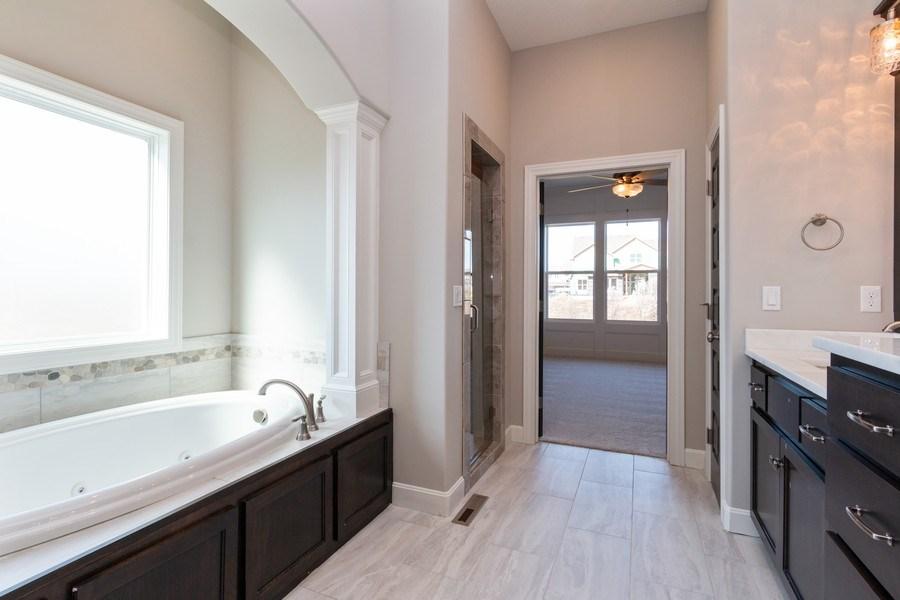 Real Estate Photography - 16204 Stearns St., Overland Park, KS, 66221 - Master Bathroom