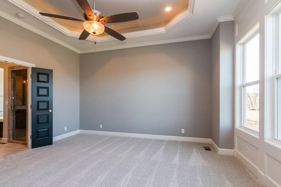 Real Estate Photography - 16204 Stearns St., Overland Park, KS, 66221 - Master Bedroom