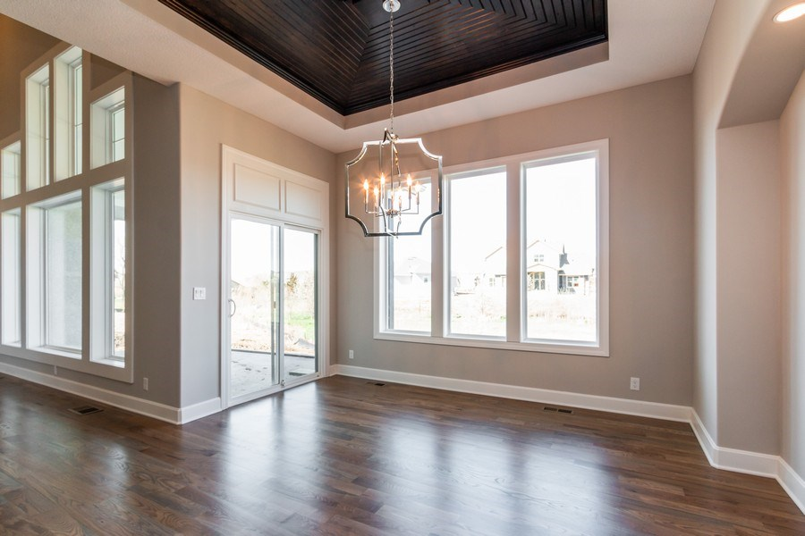 Real Estate Photography - 16204 Stearns St., Overland Park, KS, 66221 - Dining Room