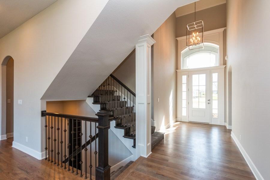Real Estate Photography - 16204 Stearns St., Overland Park, KS, 66221 - Foyer