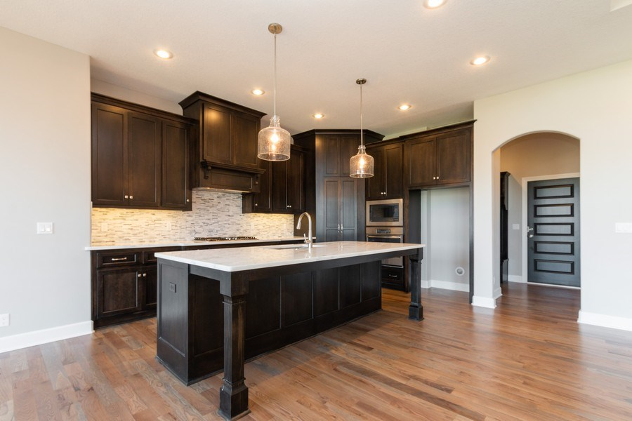 Real Estate Photography - 16204 Stearns St., Overland Park, KS, 66221 - Kitchen