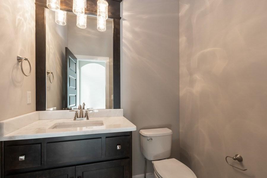 Real Estate Photography - 16204 Stearns St., Overland Park, KS, 66221 - Half Bath