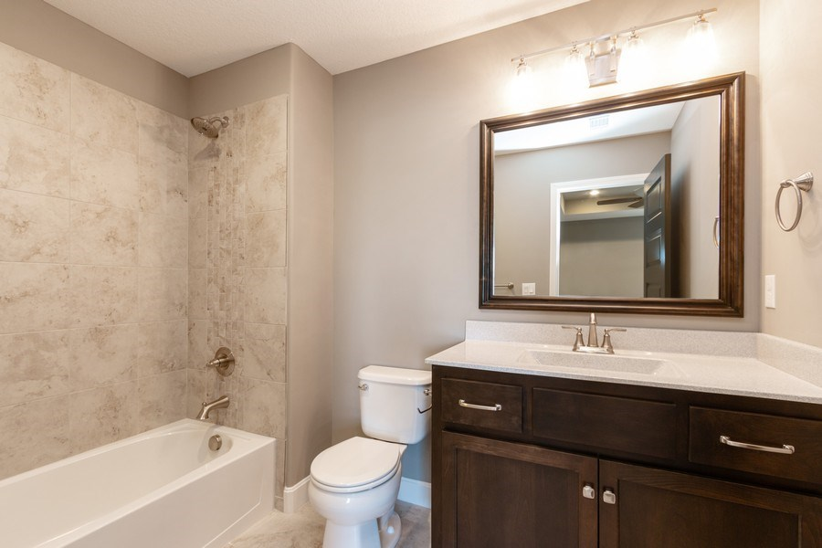 Real Estate Photography - 16204 Stearns St., Overland Park, KS, 66221 - Bathroom