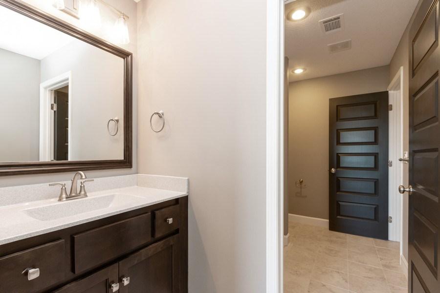 Real Estate Photography - 16204 Stearns St., Overland Park, KS, 66221 - 2nd Bathroom