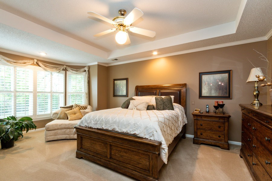 Real Estate Photography - 15238 Hemlcok St, Overland Park, KS, 66223 - Master Bedroom