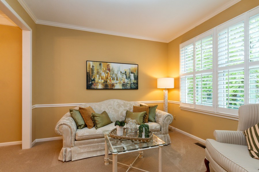 Real Estate Photography - 15238 Hemlcok St, Overland Park, KS, 66223 - Living Room