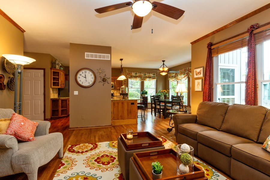 Real Estate Photography - 15238 Hemlcok St, Overland Park, KS, 66223 - Family Room