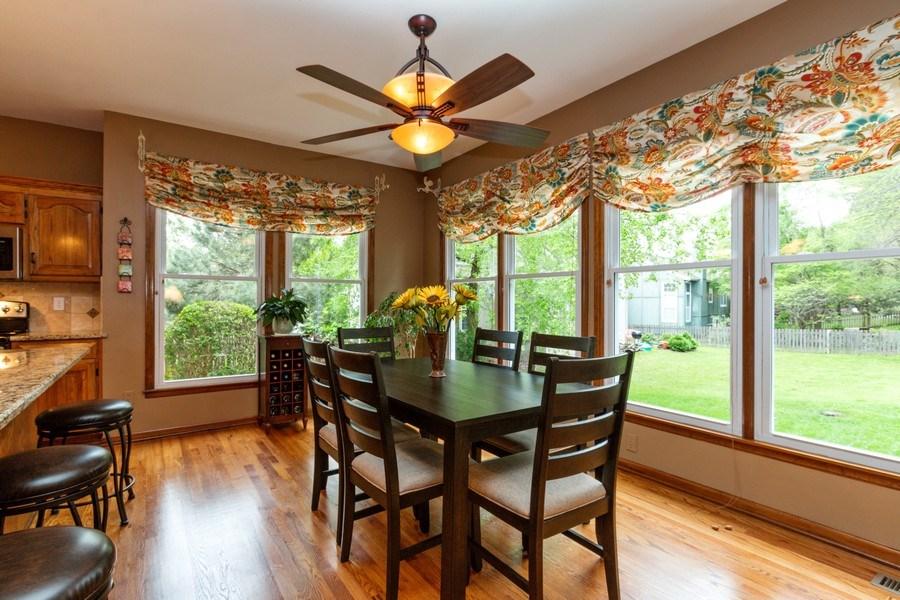 Real Estate Photography - 15238 Hemlcok St, Overland Park, KS, 66223 - Breakfast Area