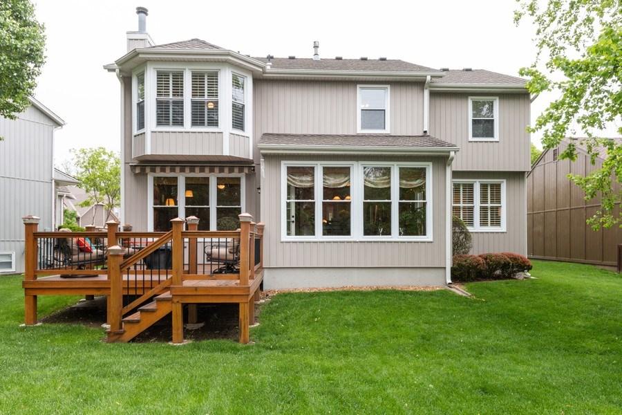Real Estate Photography - 15238 Hemlcok St, Overland Park, KS, 66223 - Rear View