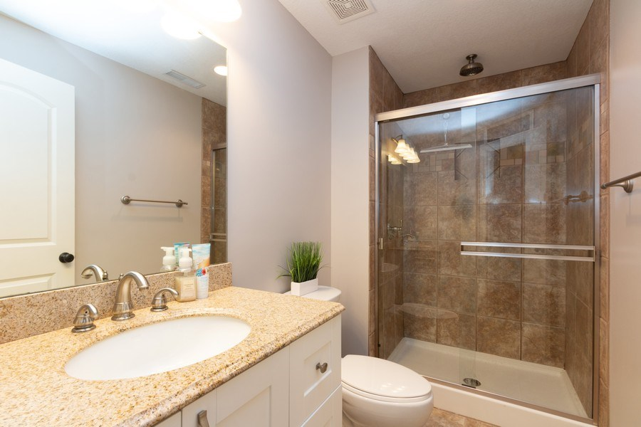 Real Estate Photography - 1013 SW Whistle Drive, Lee's Summit, MO, 64082 - Updated 3rd Bathroom