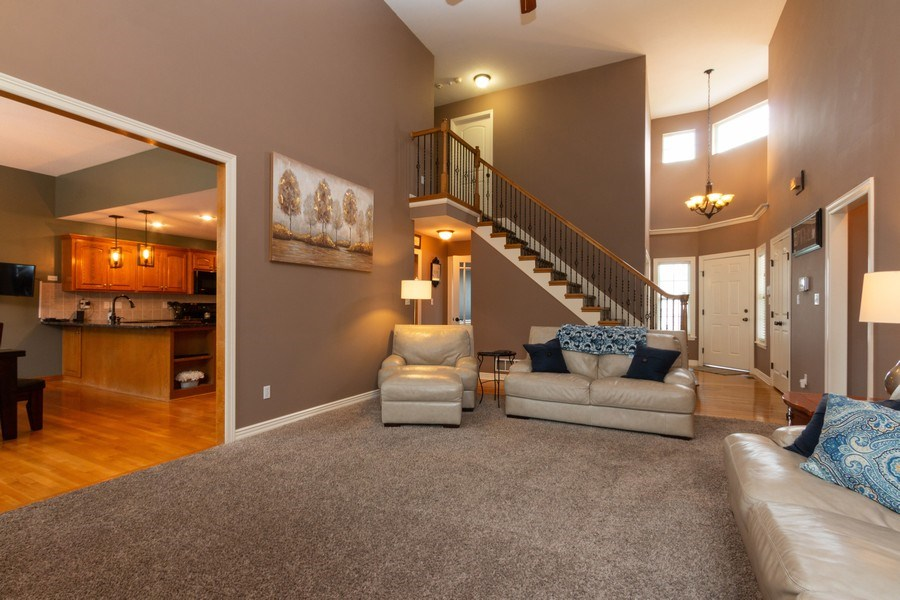 Real Estate Photography - 1013 SW Whistle Drive, Lee's Summit, MO, 64082 - Great Open Floor Plan
