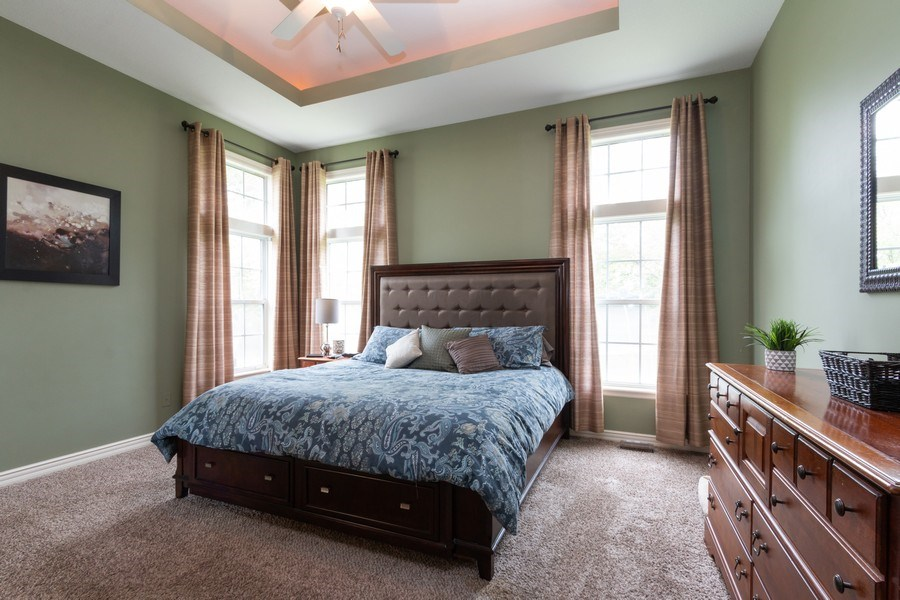 Real Estate Photography - 1013 SW Whistle Drive, Lee's Summit, MO, 64082 - First Floor Master Bedroom