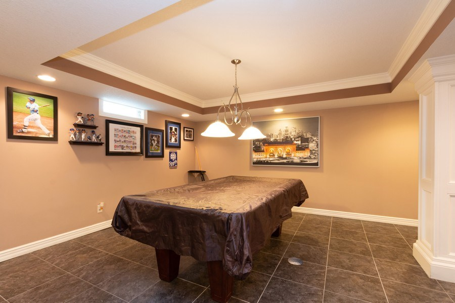 Real Estate Photography - 1013 SW Whistle Drive, Lee's Summit, MO, 64082 - Pool Table stays!!