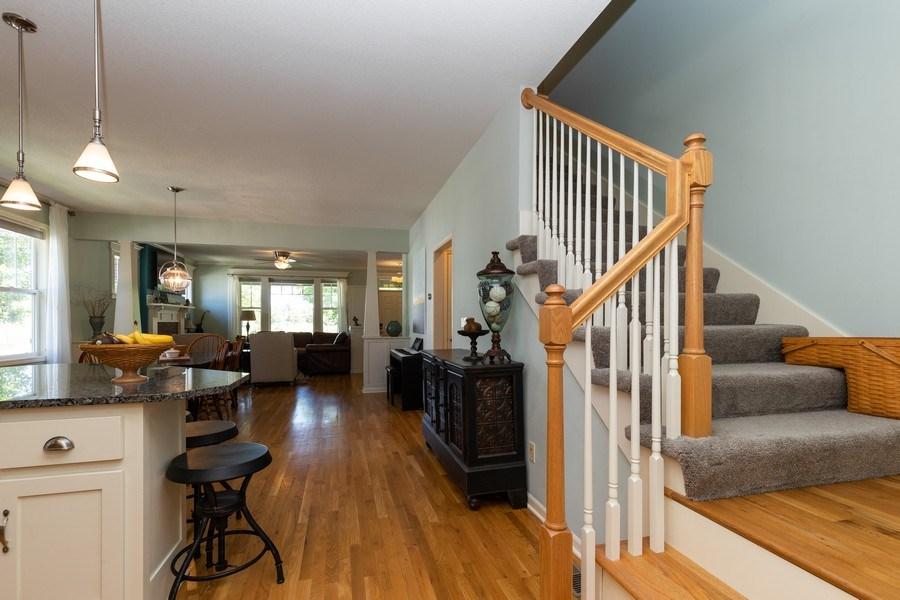 Real Estate Photography - 9001 NE 79th St, Kansas City, MO, 64158 - Staircase