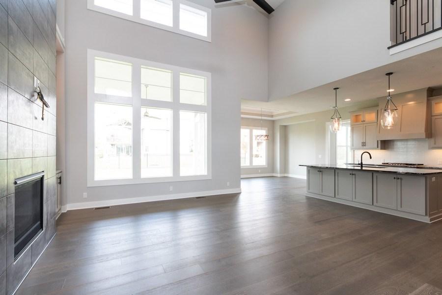 Real Estate Photography - 16104 Melrose St., Overland Park, KS, 66221 - Living Room