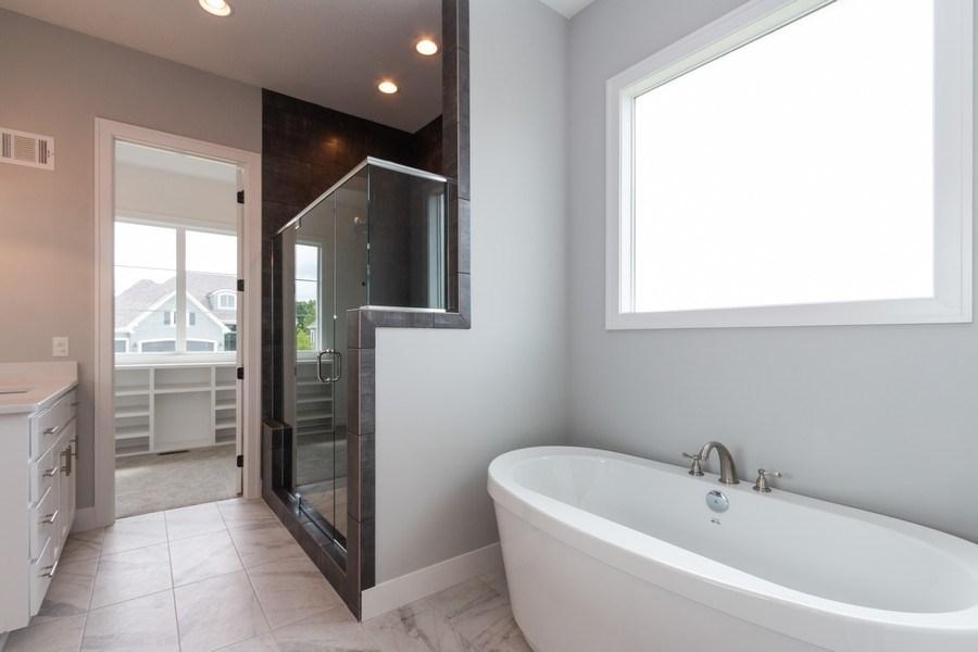 Real Estate Photography - 16104 Melrose St., Overland Park, KS, 66221 - Master Bathroom
