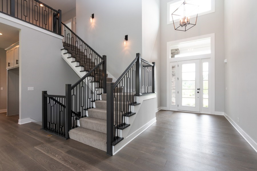 Real Estate Photography - 16104 Melrose St., Overland Park, KS, 66221 - Foyer