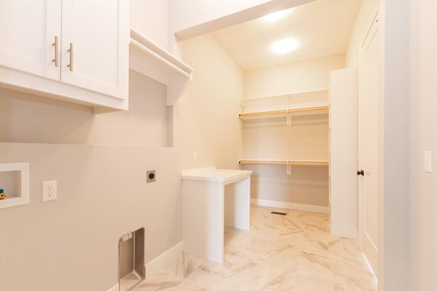 Real Estate Photography - 16104 Melrose St., Overland Park, KS, 66221 - Laundry Room