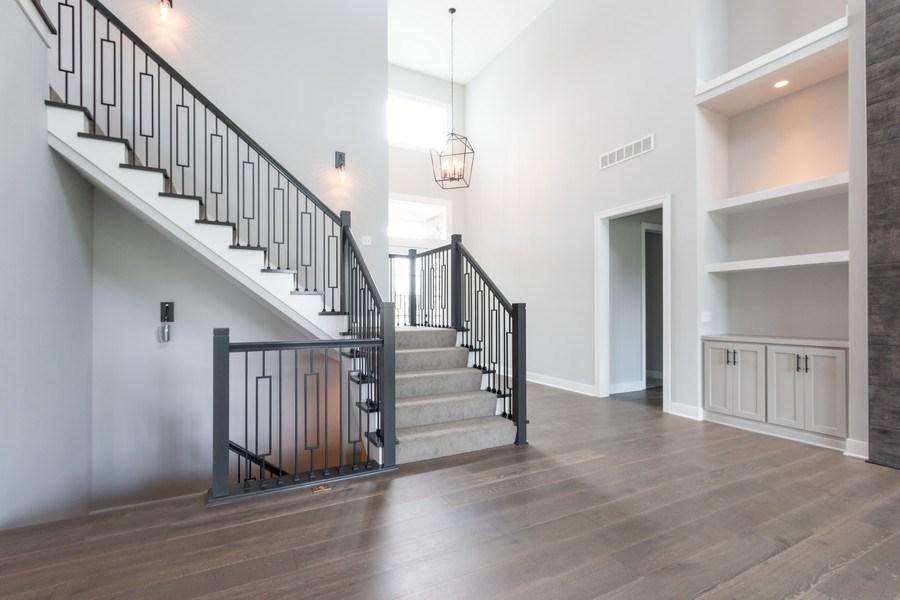 Real Estate Photography - 16104 Melrose St., Overland Park, KS, 66221 - Staircase