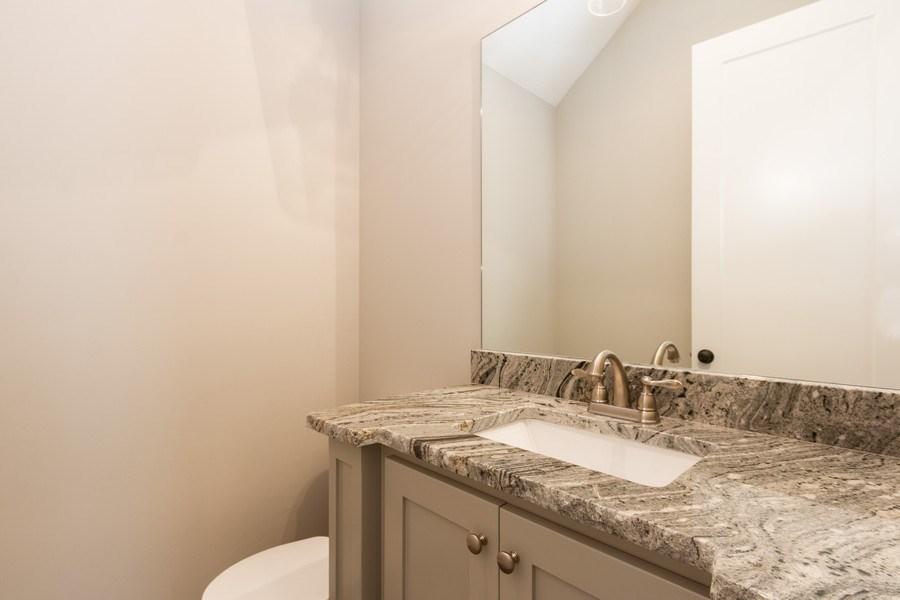 Real Estate Photography - 16104 Melrose St., Overland Park, KS, 66221 - Half Bath
