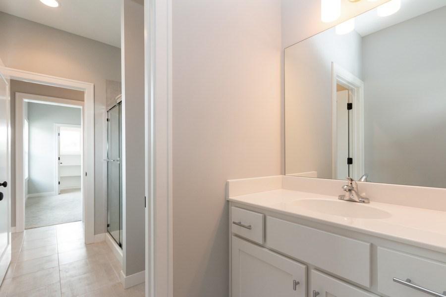 Real Estate Photography - 16104 Melrose St., Overland Park, KS, 66221 - 2nd Bathroom