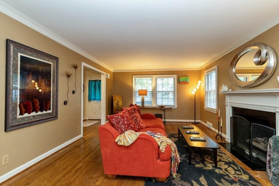 Real Estate Photography - 6822 Cherry Street, Kansas City, MO, 64131 - Living Room