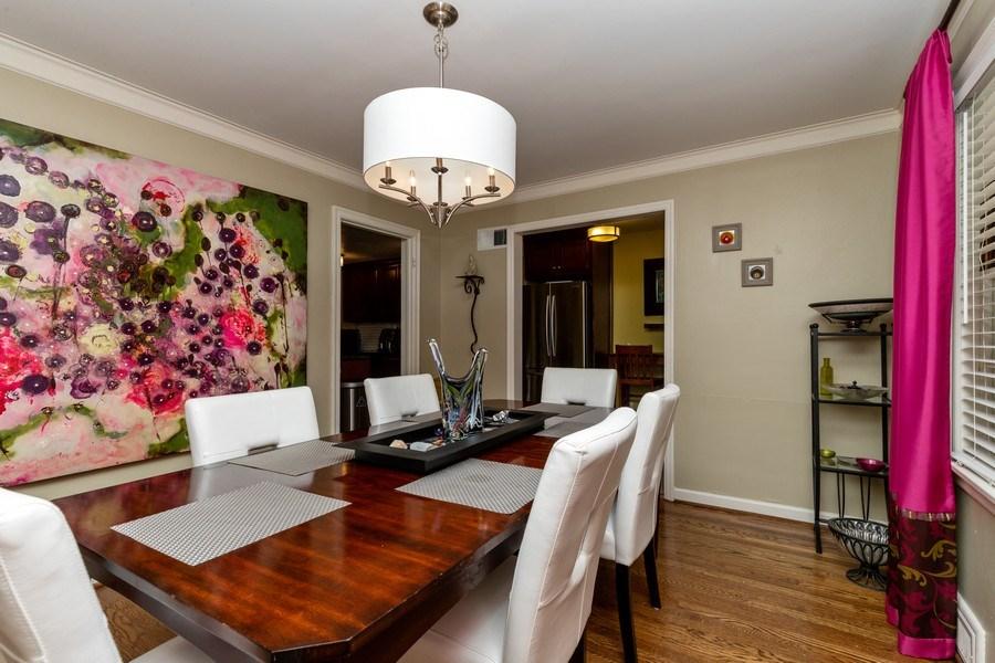 Real Estate Photography - 6822 Cherry Street, Kansas City, MO, 64131 - Dining Room