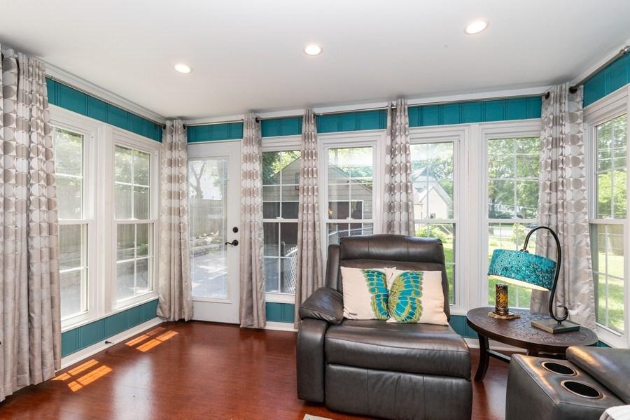 Real Estate Photography - 6822 Cherry Street, Kansas City, MO, 64131 - Family Room