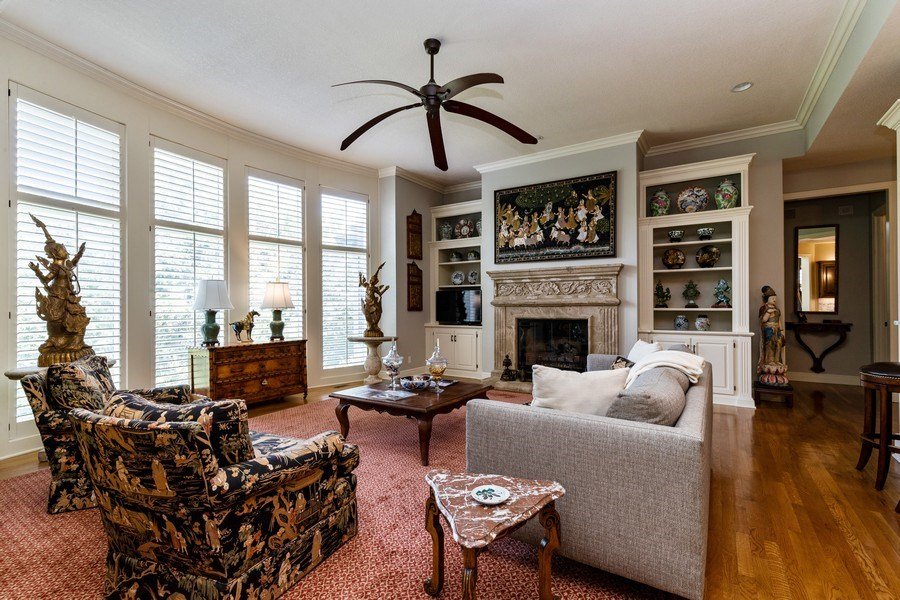Real Estate Photography - 26722 W 109th St, Olathe, KS, 66061 - Living Room