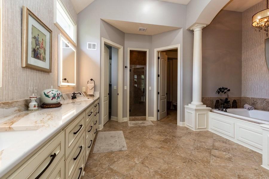 Real Estate Photography - 26722 W 109th St, Olathe, KS, 66061 - Master Bathroom