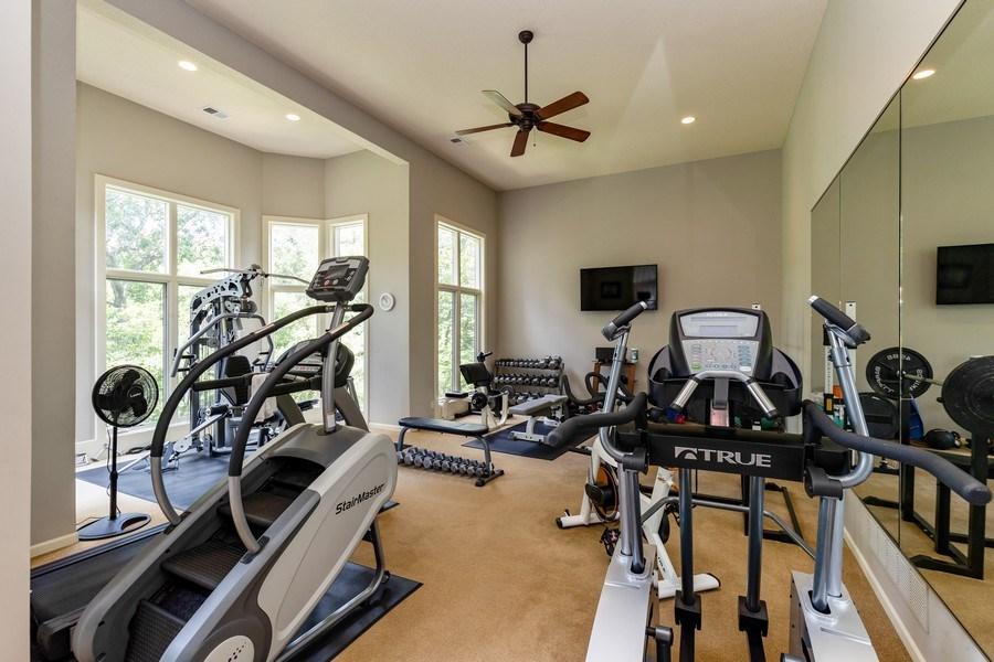 Real Estate Photography - 26722 W 109th St, Olathe, KS, 66061 - Gym
