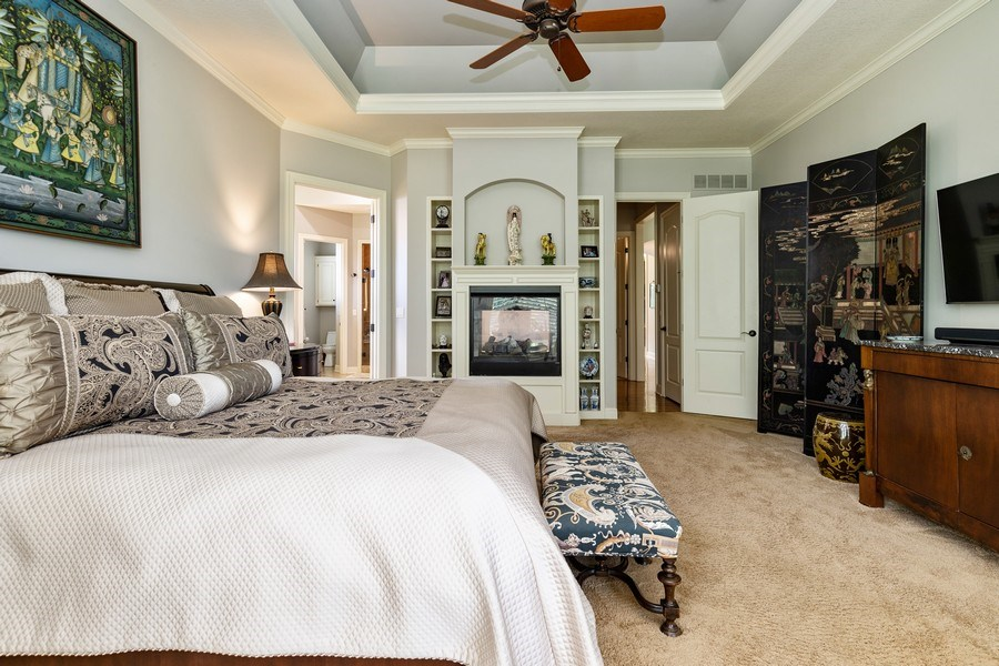 Real Estate Photography - 26722 W 109th St, Olathe, KS, 66061 - Master Bedroom