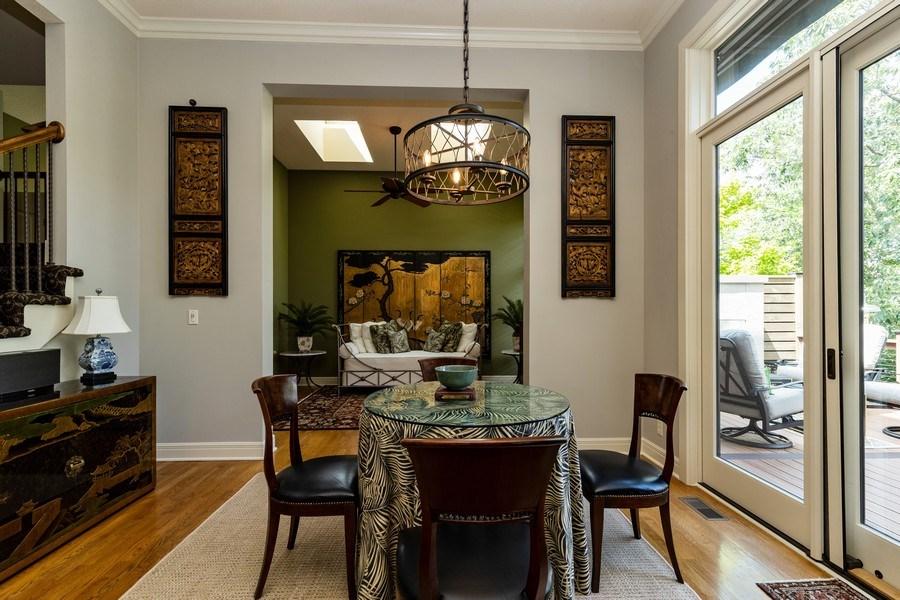 Real Estate Photography - 26722 W 109th St, Olathe, KS, 66061 - Breakfast Area