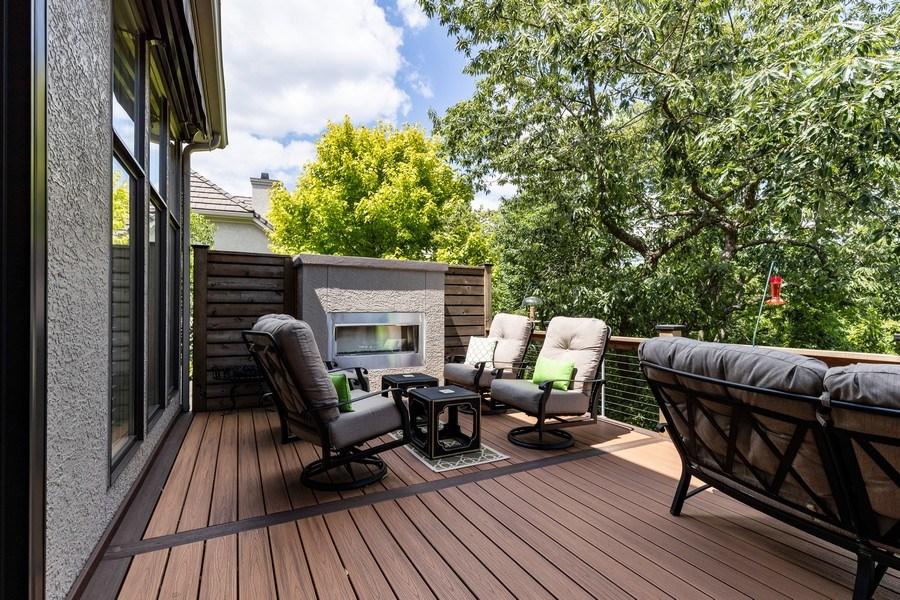 Real Estate Photography - 26722 W 109th St, Olathe, KS, 66061 - Deck