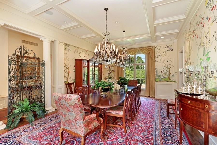 Real Estate Photography - 11521 Pawnee Circle, Leawood, KS, 66211 - Dining Room