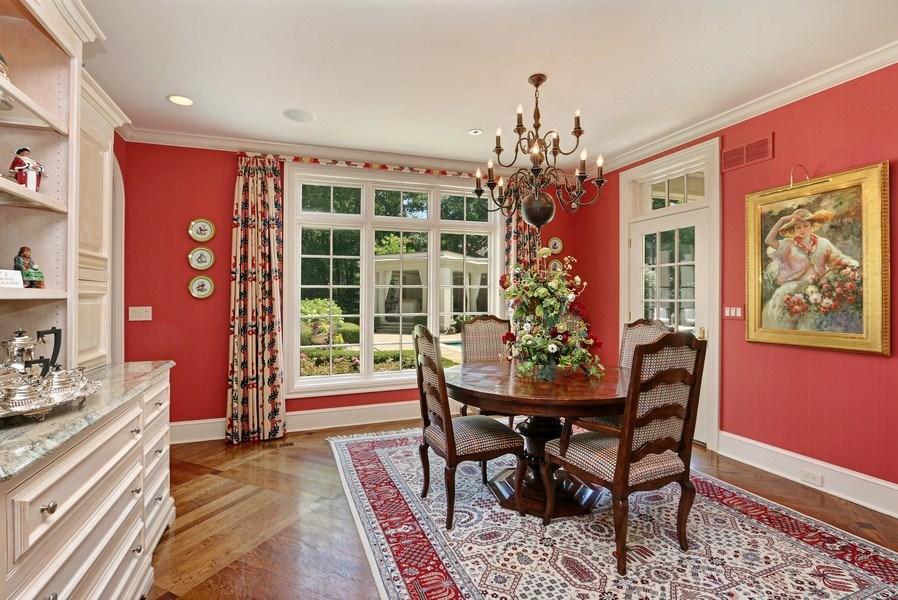 Real Estate Photography - 11521 Pawnee Circle, Leawood, KS, 66211 - Breakfast Area